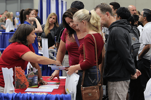 Students at a National College Fair